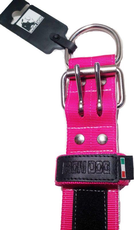 Collare rosa doppia fibbia-886