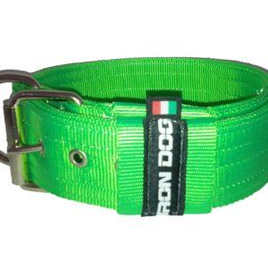 Collare IRONDOG verde fluorescente-0