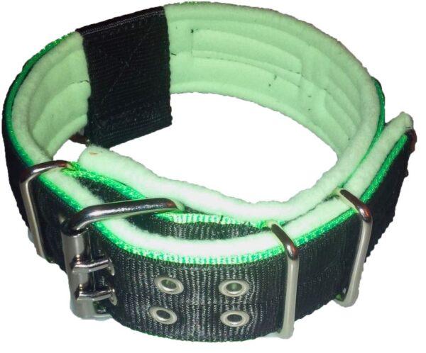 Collare 405 nero/verde-0